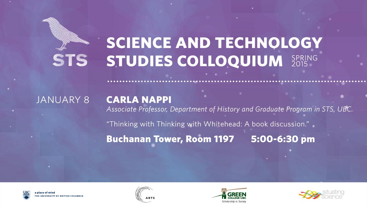 Carla Nappi talk poster